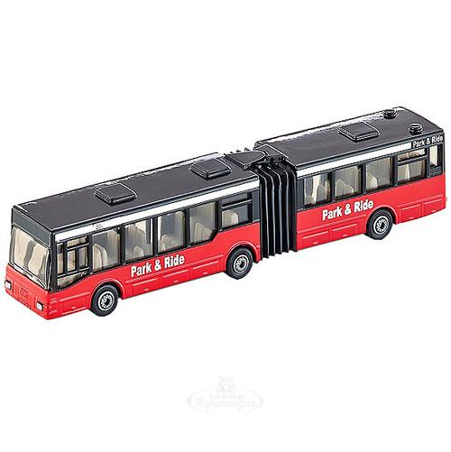 Автобус с гармошкой, 16 см, металл, SIKU, цена: 807.5 руб.