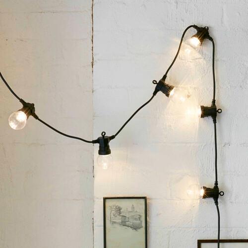 уличные гирлянды лампочки
