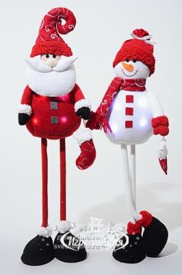 Снеговик на длинных ножках своими руками 2