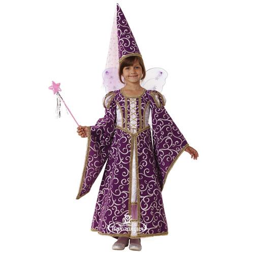 e99ed586694790 Карнавальный костюм Фея лиловый, 7-8 лет, рост 122 см, 32 размер ...