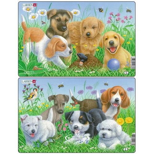 Пазлы: милые щенки