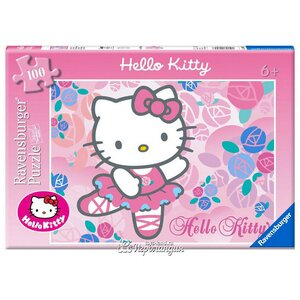 "Пазл ""Hello Kitty"", 100 эл."