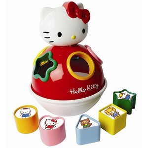 "Сортер-неваляшка ""Hello Kitty"", 24 см, звук"