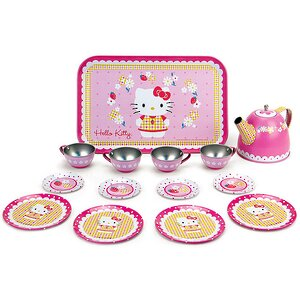 "Чайный сервиз ""Hello Kitty"", 14 предметов