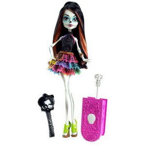 "Кукла Скелита Калаверас, ""Скариж: Город страха"" (Monster High), 26 см"